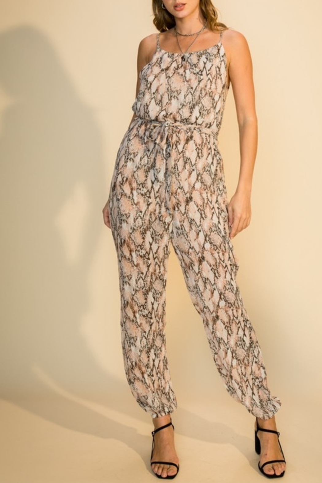HYFVE Made For This Jumpsuit - Front Cropped Image