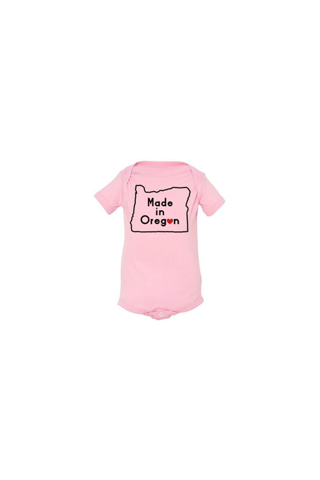 Salty Raven Made In Oregon Onesie - Front Cropped Image