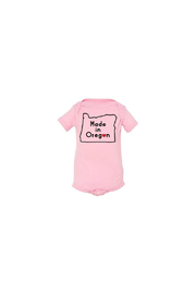 Salty Raven Made In Oregon Onesie - Front cropped