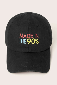Coco International Made in the 90's baseball hat - Product List Image