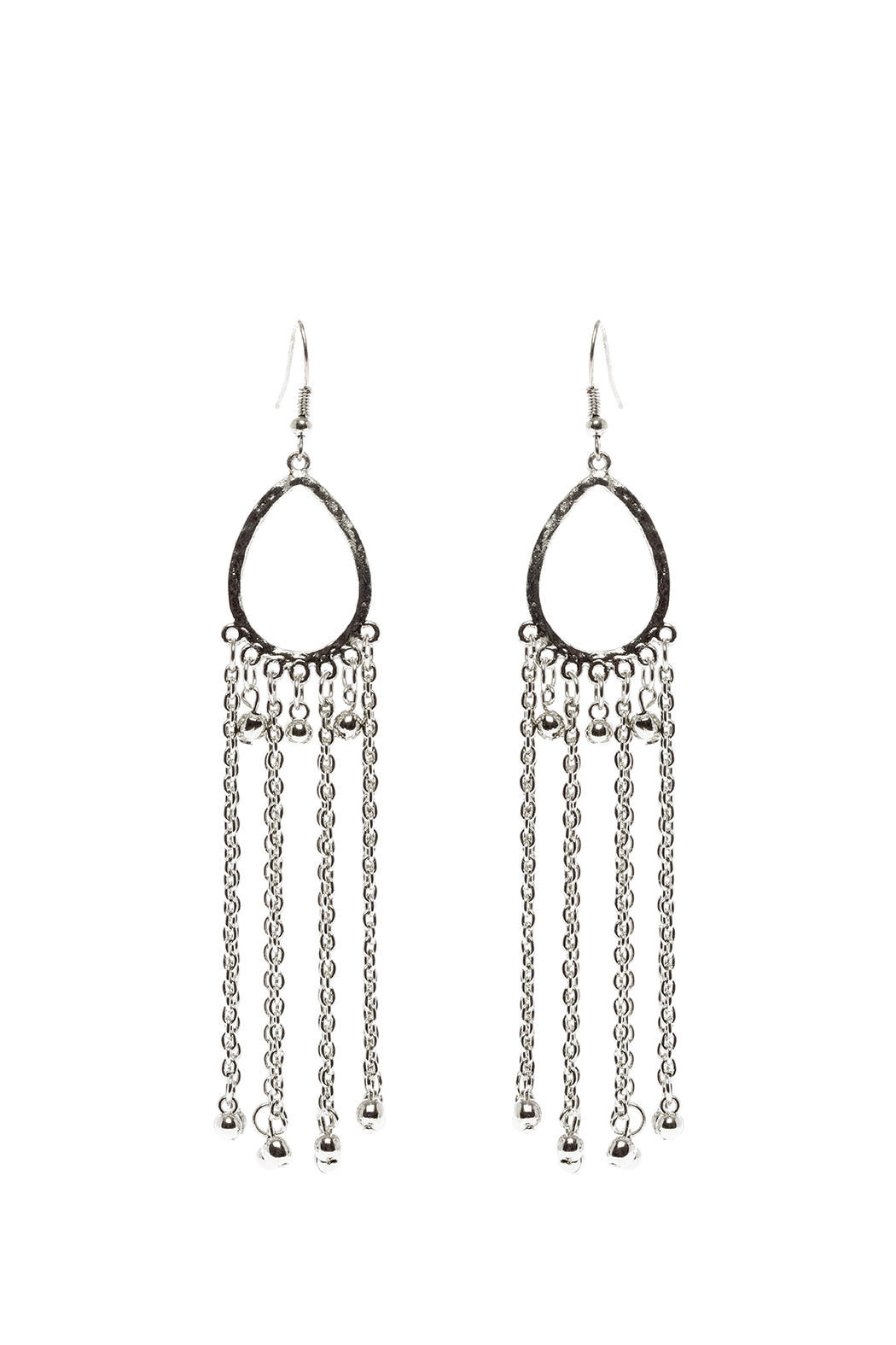 Made It! Chain Fringe Earrings - Main Image