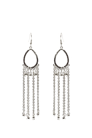 Made It! Chain Fringe Earrings - Product Mini Image