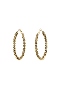Shoptiques Product: Chunky Gold Hoop