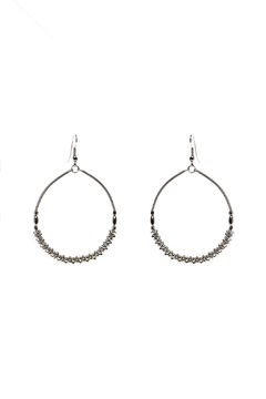 Shoptiques Product: Chunky Silver Hoop