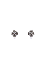 Made It! Stud Cubic Zirconia Earrings - Front cropped