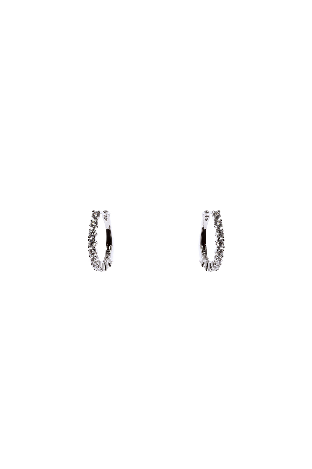 Made It! Oval Cubic Zirconia Earrings - Main Image