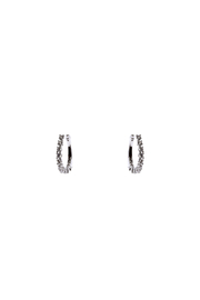 Made It! Oval Cubic Zirconia Earrings - Front cropped