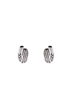 Made It! Waves Cubic Zirconia Earrings - Alternate List Image