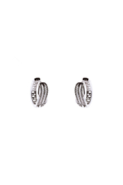 Made It! Waves Cubic Zirconia Earrings - Front cropped