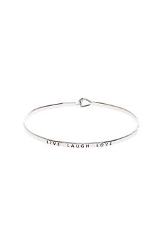 Shoptiques Product: Live Laugh Love Bracelet