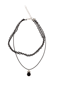 Shoptiques Product: Lace Drop Choker Necklace