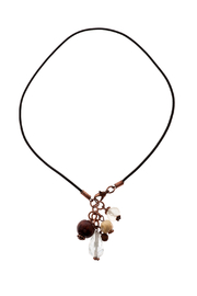 Made It! Leather Drop Necklace - Product Mini Image