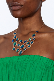 Made It! Opal Essence Statement Necklace - Back cropped