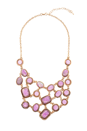 Made It! Opal Essence Statement Necklace - Front cropped