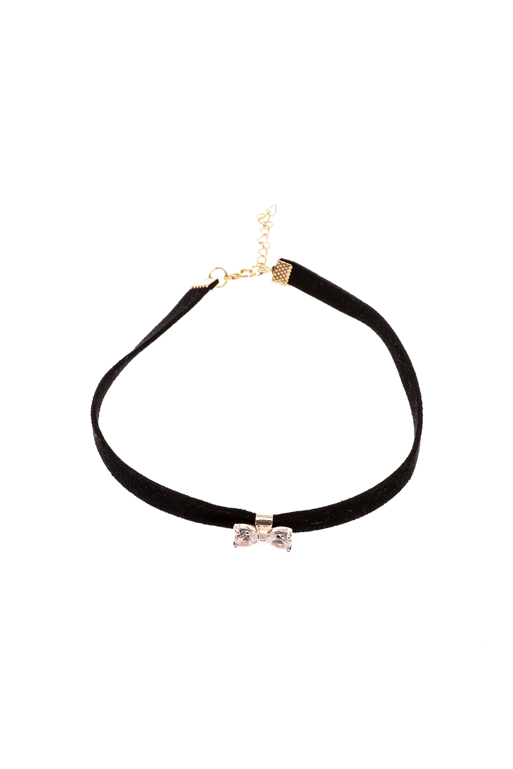 Made It! Suede Bow Choker Necklace from New York City by ... 9df2679e5