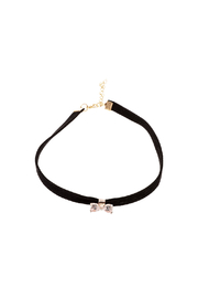Made It! Suede Bow Choker Necklace - Product Mini Image