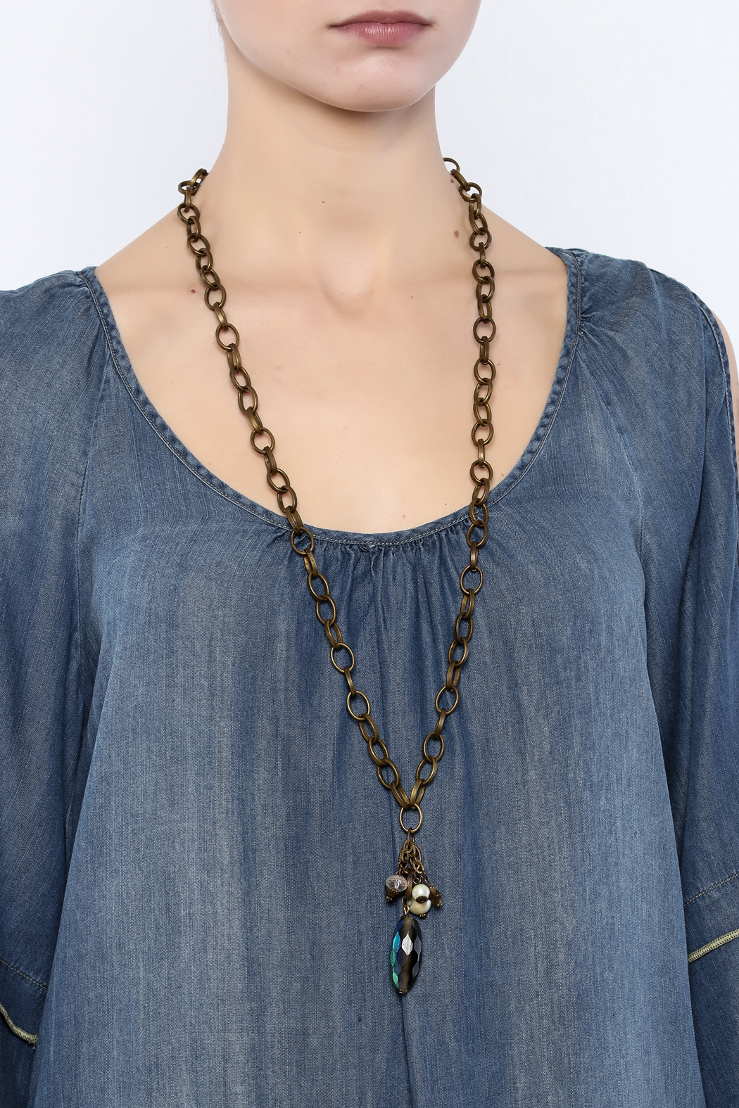 Made It! Trinket Necklace - Back Cropped Image