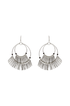 Shoptiques Product: Wire Fringe Hoop