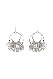 Made It! Wire Fringe Hoop - Front cropped
