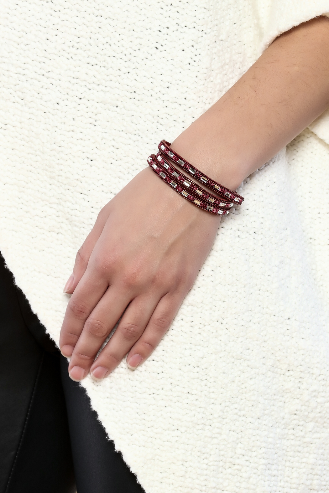 Made It! Wrap Bracelet - Back Cropped Image