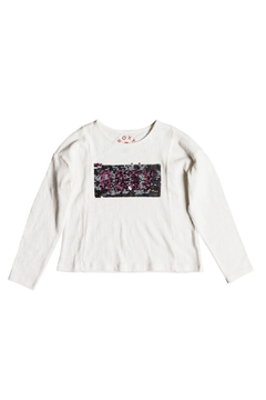 Shoptiques Product: Made of Gold Be Roxy long Sleeve Tee