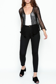 Made on Earth Black Shrug - Side cropped