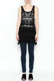 Made on Earth Lace Sleeveless Tunic - Front full body