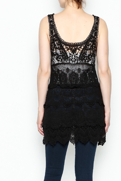 Made on Earth Lace Sleeveless Tunic - Alternate List Image