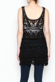 Made on Earth Lace Sleeveless Tunic - Back cropped
