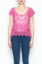 Made on Earth Lace Top - Front cropped