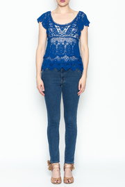 Made on Earth Lace Top - Front full body