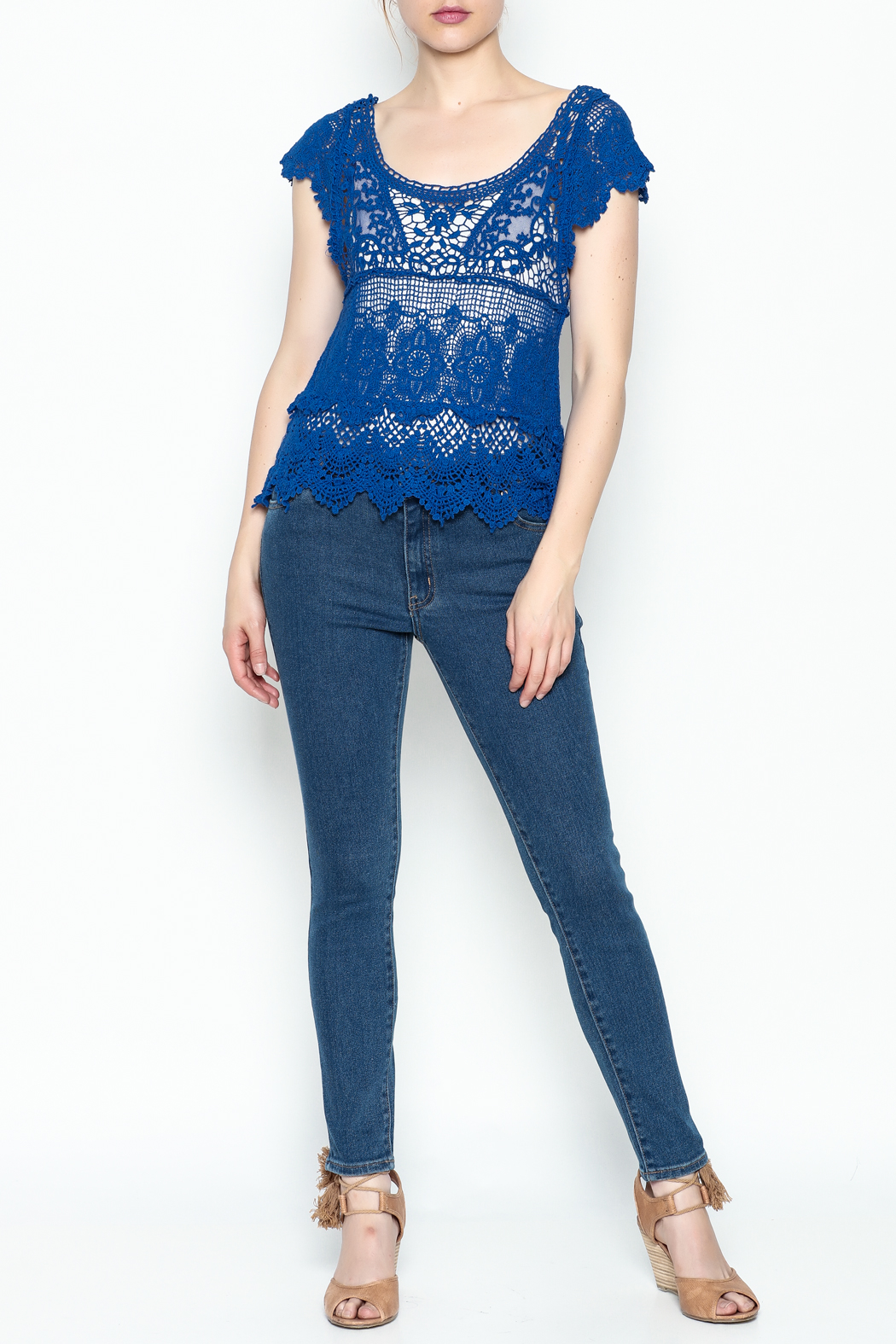 Made on Earth Lace Top - Main Image