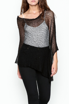 Made on Earth Light Knit Poncho - Product List Image