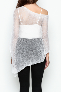 Made on Earth Light Knit Poncho - Alternate List Image