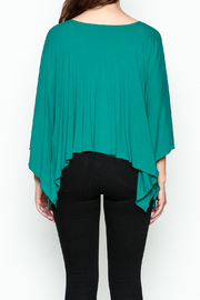 Made on Earth Poncho Top - Back cropped