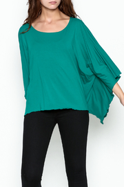 Made on Earth Poncho Top - Side cropped