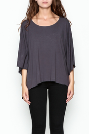 Made on Earth Poncho Top - Front cropped