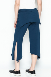 Made on Earth Skirted Crop Pant - Back cropped