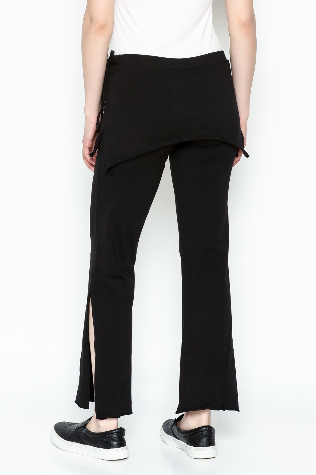 Made on Earth Skirted Crop Pant - Back Cropped Image