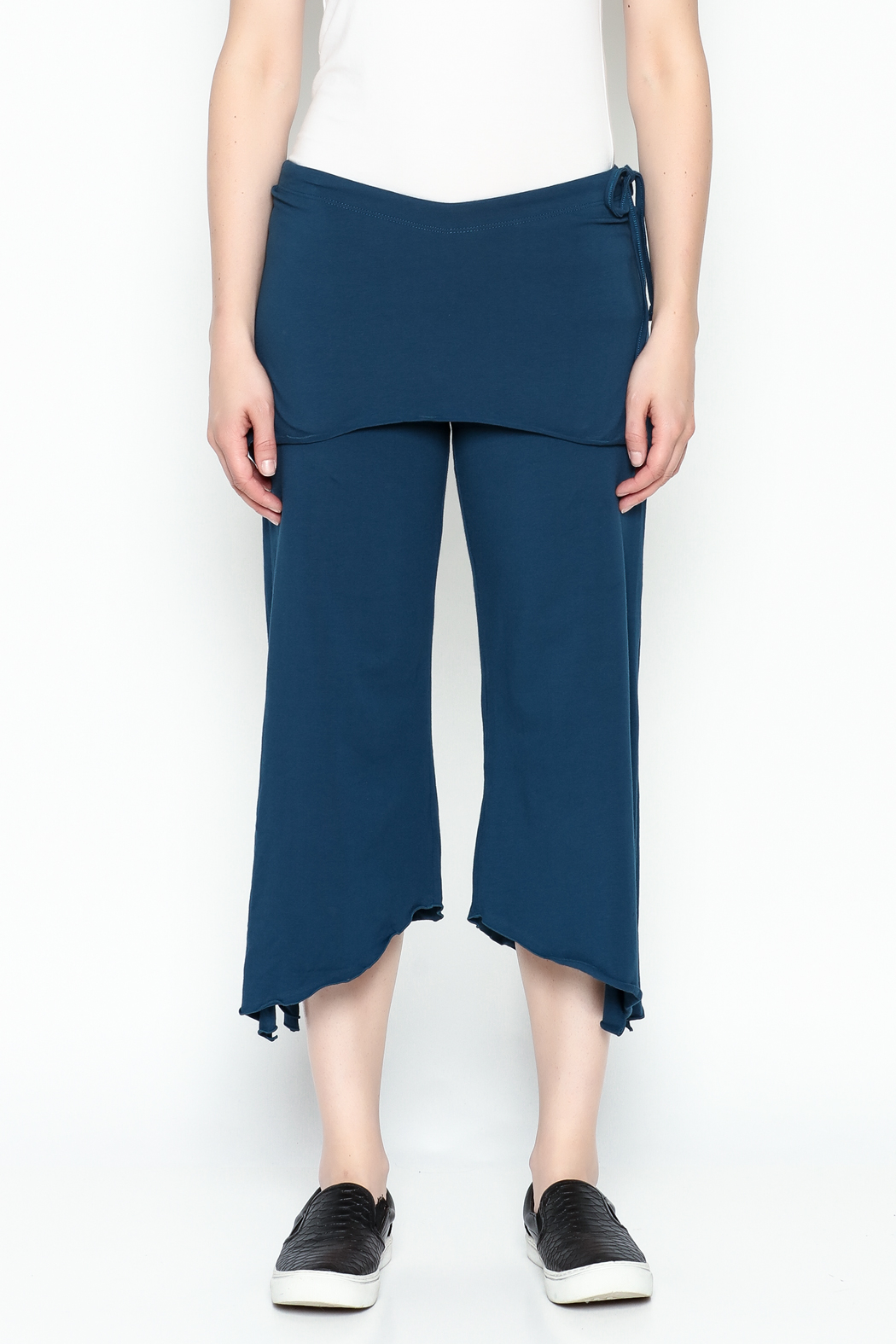 Made on Earth Skirted Crop Pant - Main Image