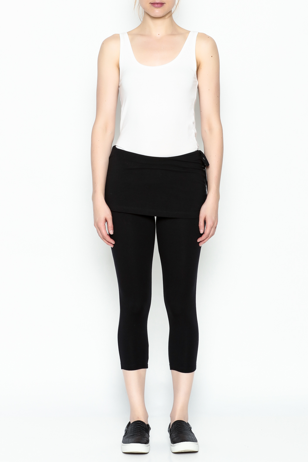 Made on Earth Skirted Legging - Front Full Image