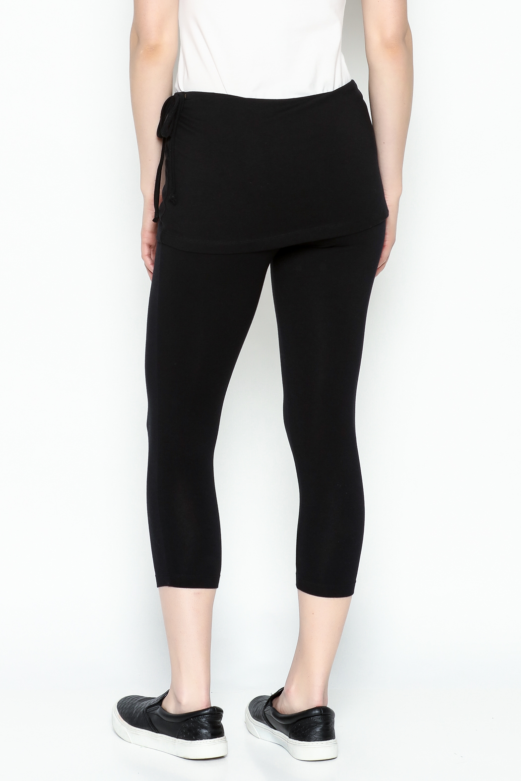 Made on Earth Skirted Legging - Back Cropped Image