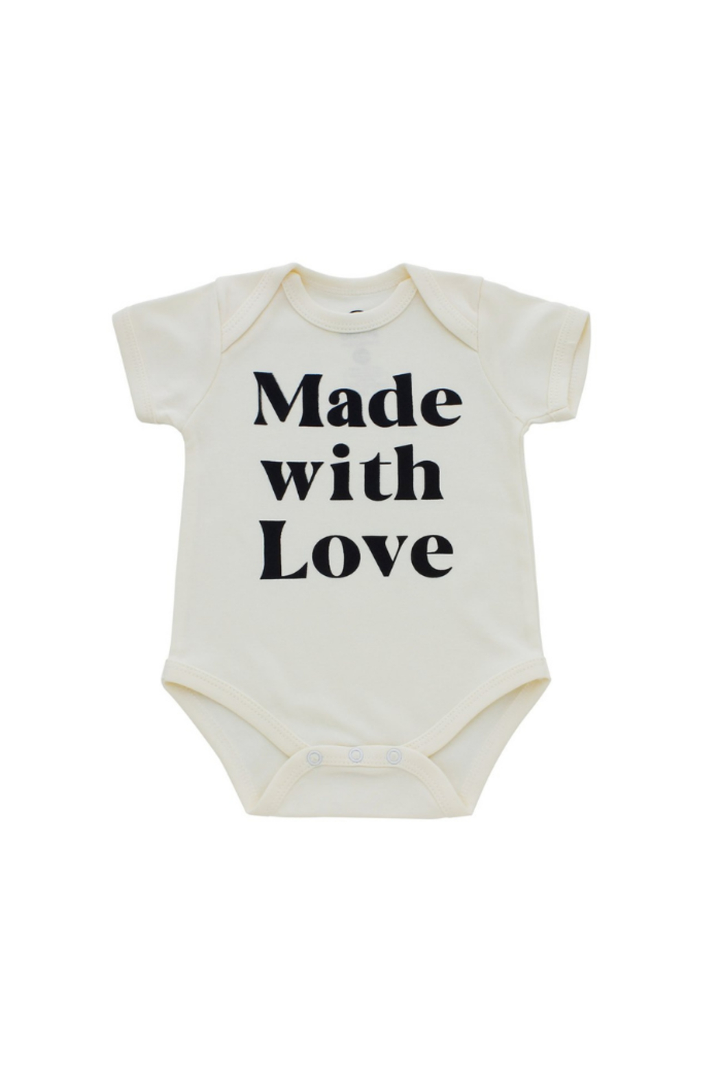 Emerson & Friends Made With Love Onesie - Front Cropped Image