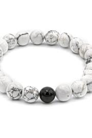 Made It! B/w Stone Bracelet - Product Mini Image