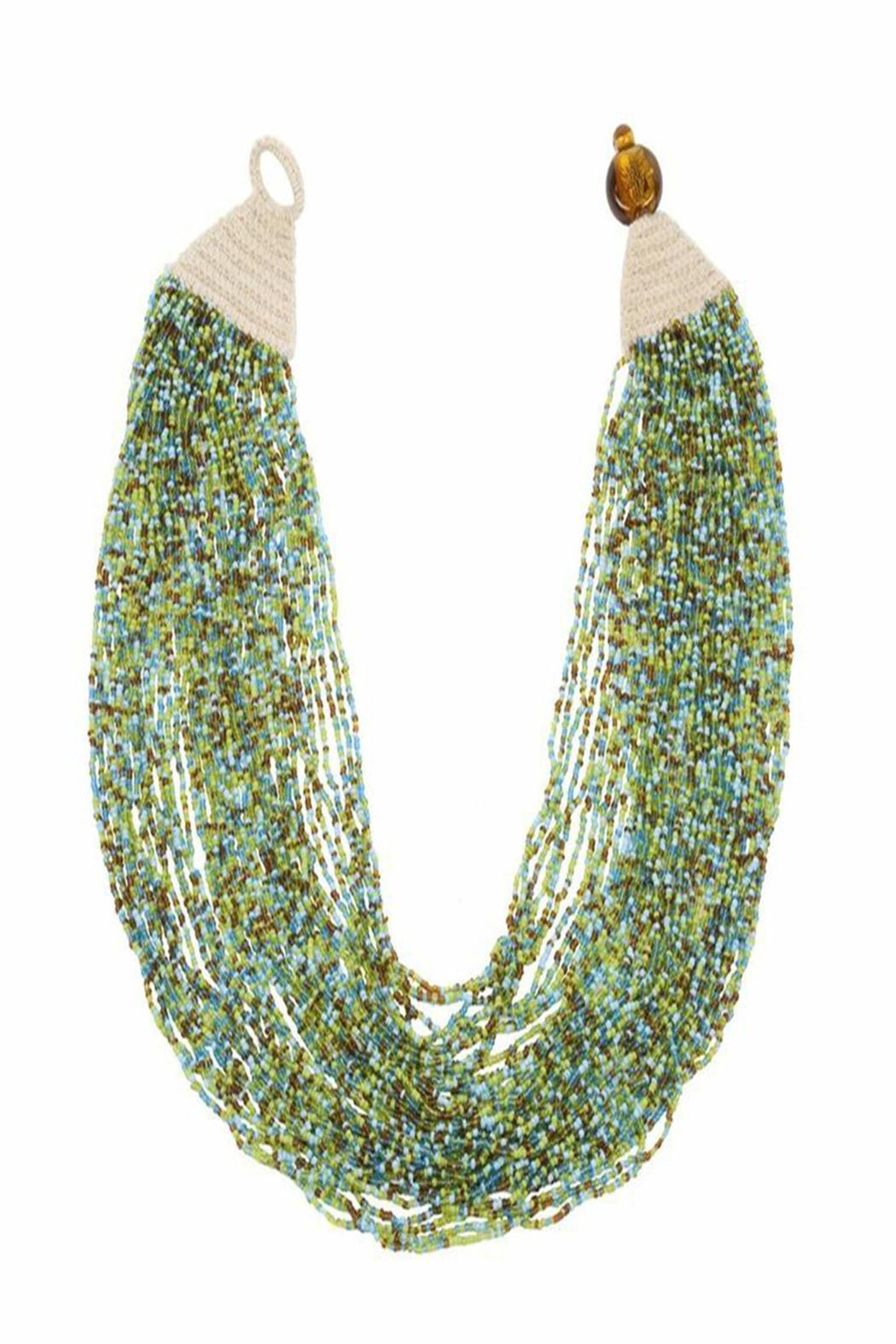 Made It! Blue/Green Cleopatra Necklace - Main Image