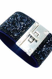 Made It! Crystal Metal Cuff - Front cropped