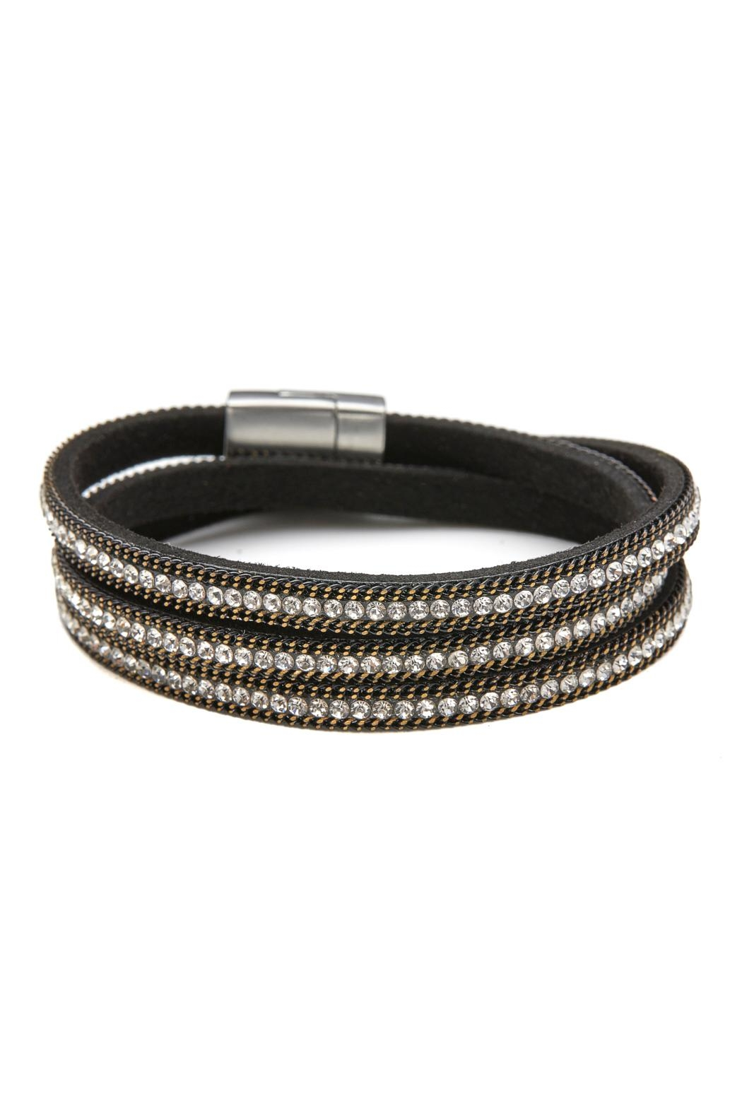 Made It! Leather Wrap Bracelet - Main Image