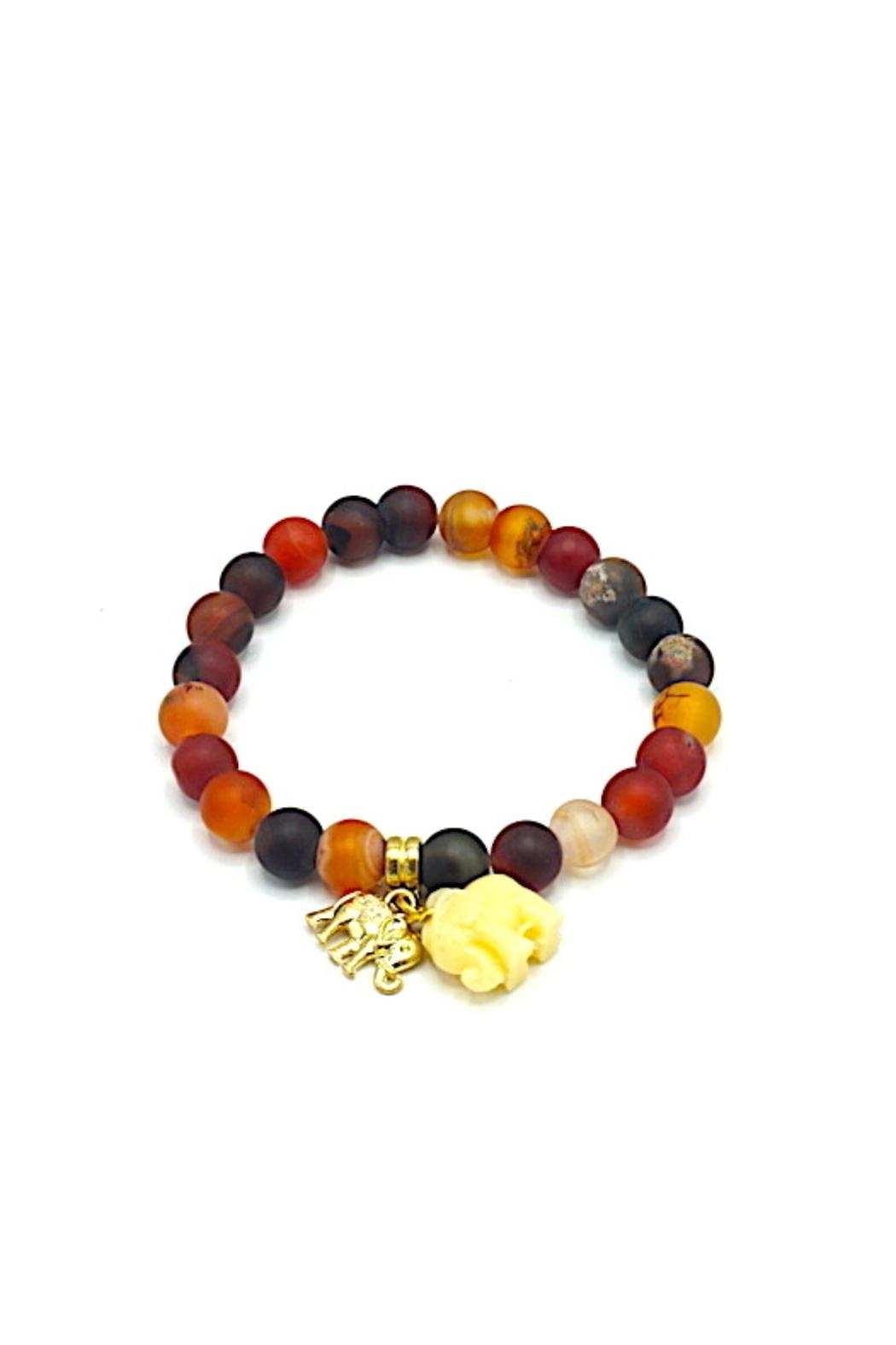 Made It! Natural Stone Bracelet - Front Cropped Image