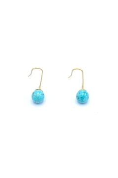 Made It! Natural Stone Earrings - Alternate List Image