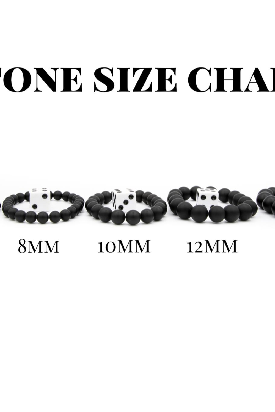 Made It! Shungite Stone Bracelet - Front Full Image